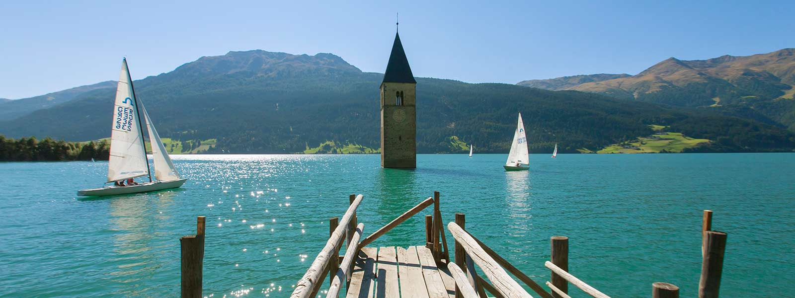 Active holidays - Lake Resia